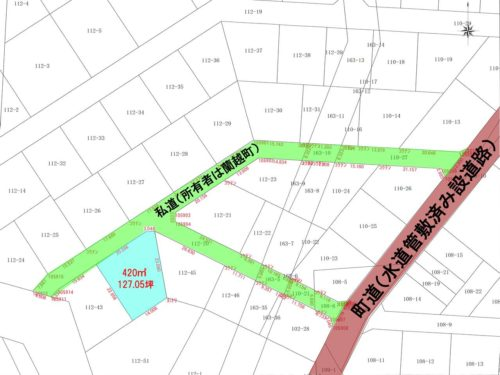 蘭越町 字湯里 127.05坪 ハイグレードヴィラ