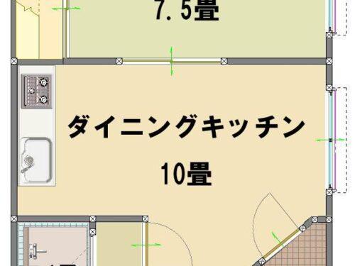 倶知安町樺山1LDK賃貸物件 屋外倉庫付 クレヨン57