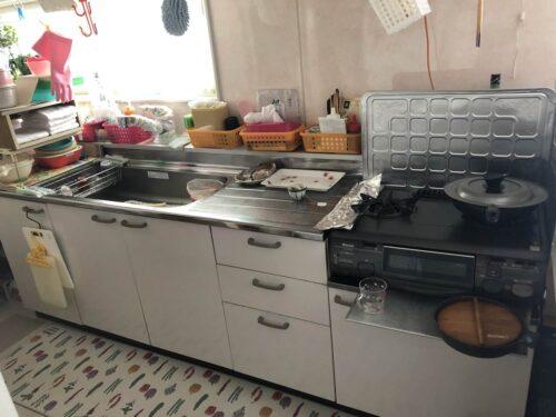 2F居住スペース(キッチン)
