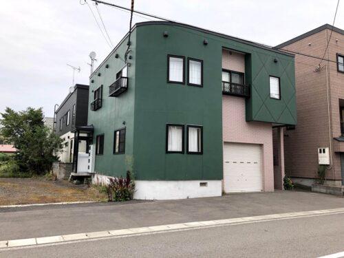 倶知安中心街4LDK オール電化の一軒家 広い駐車スペース有